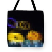 Spotted Building Blocks Tote Bag