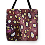 Spotted Flatworm Tote Bag