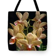 Spotted Orchids Tote Bag