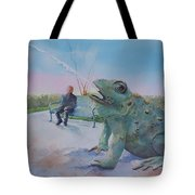 Spouting Off IIi Tote Bag