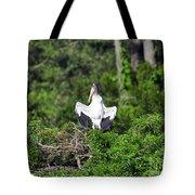 Spread Stork Tote Bag