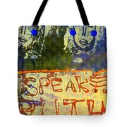Spread Truth Angels Tote Bag