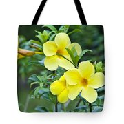 Spreading Petals On Tall Stemmed Bright Tote Bag
