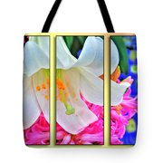 Spring Again Triptych Series Tote Bag