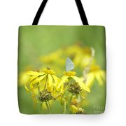Spring Azure And Friend Tote Bag