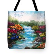 Spring Creek Tote Bag