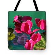 Spring Cyclamen Tote Bag