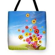 Spring Delivery 2 Tote Bag by Carlos Caetano