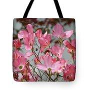 Spring Dogwood Tree Flowers Art Prints Pink Flowering Tree Tote Bag