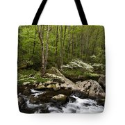 Spring Dogwoods On The Little River - D003829 Tote Bag