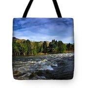 Spring Flow Tote Bag