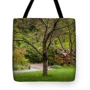 Spring Garden Landscape Tote Bag