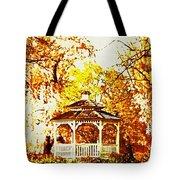 Spring Gazebo Tote Bag