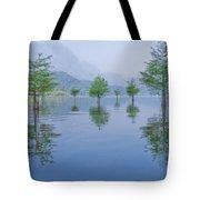 Spring Hanging Garden Tote Bag