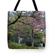 Spring In Bloom At The Japanese Garden Tote Bag
