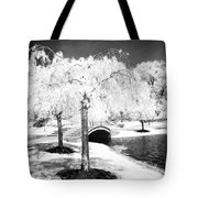 Spring In Infrared Tote Bag