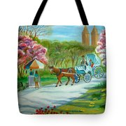 Spring In New York Tote Bag