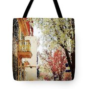 Spring In The Burg Tote Bag