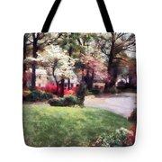 Spring In The Neighborhood Tote Bag