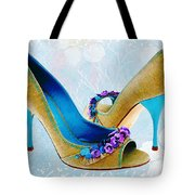 Spring In Your Step Pumps Tote Bag