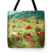 spring near the Dead See Tote Bag