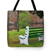 Spring On The Ponaganset River  Tote Bag by Catherine Reusch Daley