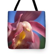 Spring Orchid Tote Bag by Kathy Yates