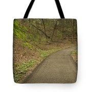 Spring Trail Scene 4 Tote Bag