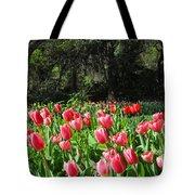 Spring Tulips 1 Vertical Tote Bag