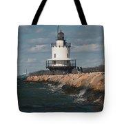 Springpoint Ledge Light House Tote Bag