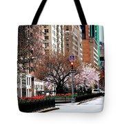 Springtime On Park Avenue Tote Bag