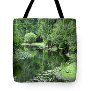 Springtime On The Lake Tote Bag
