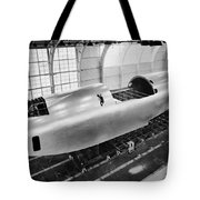 Spruce Goose Hull Construction Tote Bag