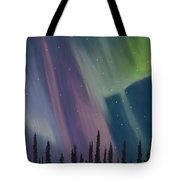 Spruce Silhouette Tote Bag
