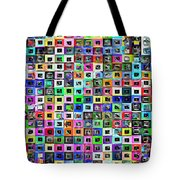 Squared Off Tote Bag