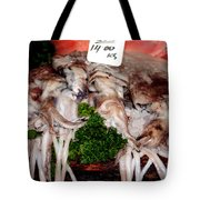 Squid For Sale Tote Bag