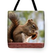 Squirrel And His Walnut Tote Bag