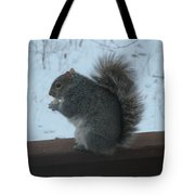 Squirrel Snack Tote Bag