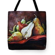 Srb Pears Tote Bag