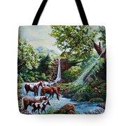 Srb Wild Horses Tote Bag