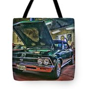 Ss In The Shop Hdr Tote Bag