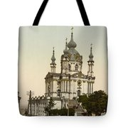 St Andrews Church In Kiev - Ukraine  Tote Bag
