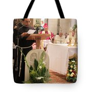 St. Catherine Church Mass Tote Bag