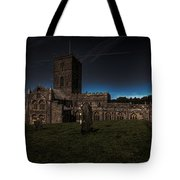 St Davids Cathedral Pembrokeshire Dusk Tote Bag