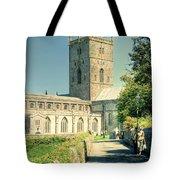 St Davids Cathedral Pembrokeshire Lomo Tote Bag