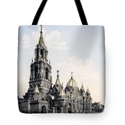 St. Demitry Church - Charkow - Ukraine - Ca 1900 Tote Bag