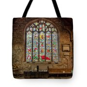 St Dyfnog Church Tote Bag