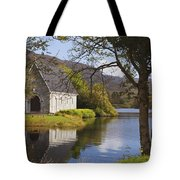 St. Finbarres Oratory On Shore Tote Bag