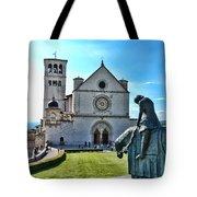 St Francis Basilica   Assisi Italy Tote Bag