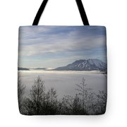 St Helens Above Clouds Tote Bag